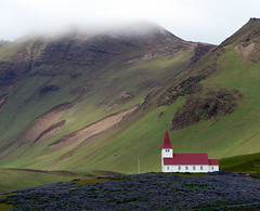 An Icelandic country church - bobtravis