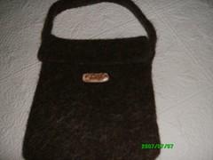 front flap felted bag (Faerycircle1) Tags: cal kal