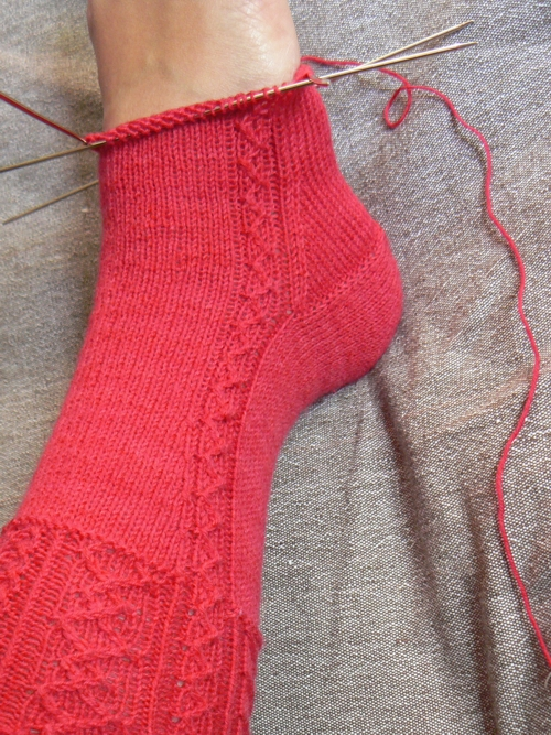 travelers stockings WIP