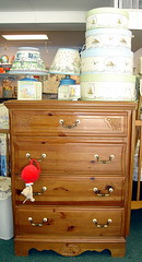 Dresser with Pooh Accessories