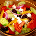 The Great Undressed Greek Salad: horiatiki