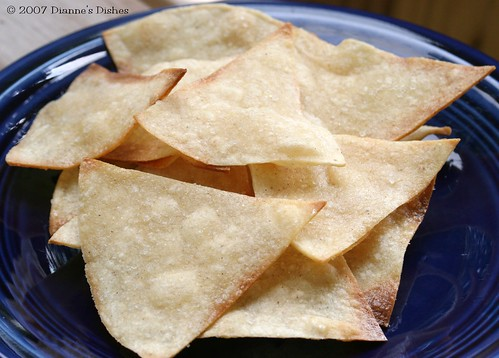 Freshly Baked Tortilla Chips