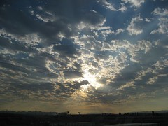 Big sky (peggyhr) Tags: light summer sky sun canada clouds sunrise bc rays 2007 aphoto lowermainland aplusphoto globalvillage2 peggyhr ~beautifulcapturegroup~