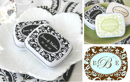 mint favor tins