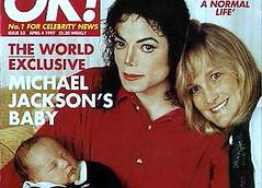 Debbie Rowe y Michael Jackson