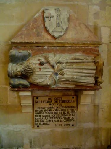 Sepultura de Guillelmus de Torricel�la