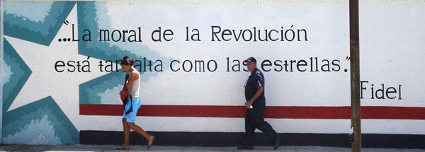 La moral de la Revolución