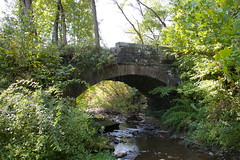 Stone bridge, just west of Grantsville, Maryland