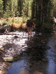 HJ crossing Redfish Lake Creek
