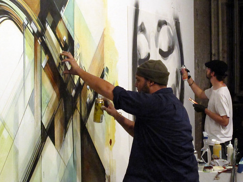 Live Painting@Project Room 3