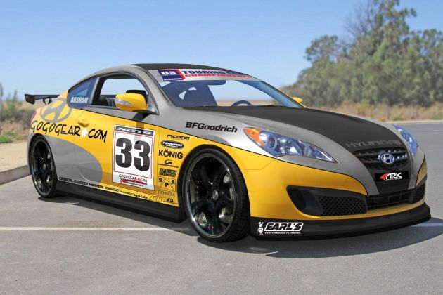 HYUNDAI GENESIS COUPE RACE CAR FROM GOGOGEAR RACING