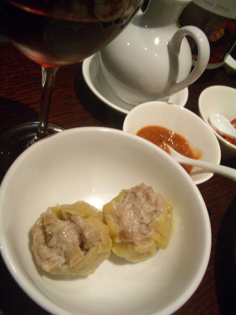 Siew mai dumplings at Lau's