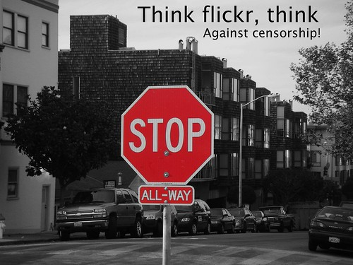 Stop censorship on flickr!