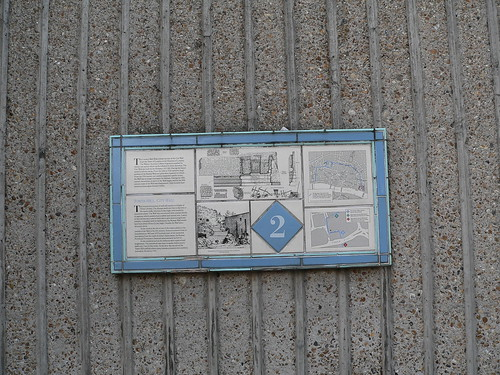 7. The London wall walk panel 2