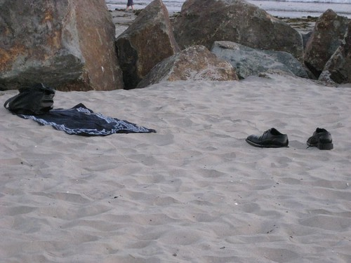 Beach Prayer Scene