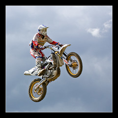 Jump in the air (Andrea&Mike@Flickr) Tags: bike jump motorbike motocross sprung motox aichwald superaplus aplusphoto