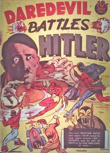 daredevil battles hitler 1941