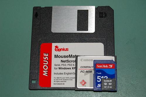Comparison of portable storage