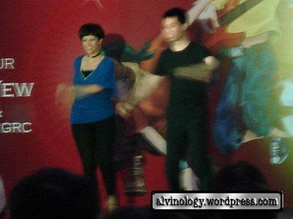 Indranee dancing