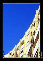 Grigio! / Cinzento! / Gray! (stefanopa) Tags: city blue sky house roma yellow liberty casa giallo cielo azzurro città libertà equilibrio flickrsbest 50club stepane