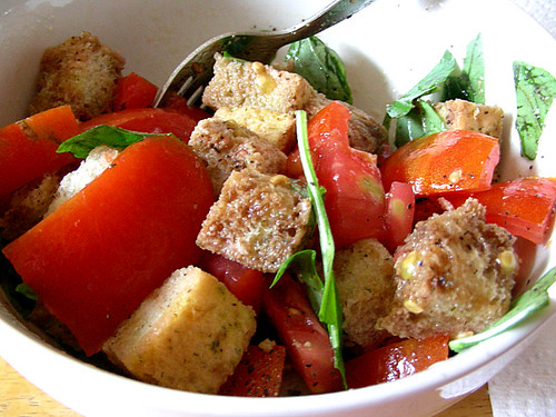 Tomato & Bread Salad