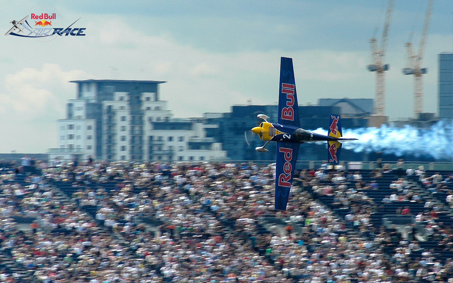 Red Bull Air Race London desktop wallpaper