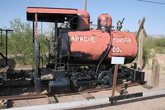 Porter-built 0-4-0 fireless locomotive, and car, on display at Apache Nitrogen Products, Benson, Cochise County, Arizona, April 20, 2007 (Ivan S. Abrams) Tags: arizona ivan getty abrams gettyimages smrgsbord tucsonarizona 12608 onlythebestare ivansabrams trainplanepro pimacountyarizona safyan arizonabar arizonaphotographers ivanabrams cochisecountyarizona tucson3985 gettyimagesandtheflickrcollection copyrightivansabramsallrightsreservedunauthorizeduseofthisimageisprohibited tucson3985gmailcom ivansafyanabrams arizonalawyers statebarofarizona californialawyers copyrightivansafyanabrams2009allrightsreservedunauthorizeduseprohibitedbylawpropertyofivansafyanabrams unauthorizeduseconstitutestheft thisphotographwasmadebyivansafyanabramswhoretainsallrightstheretoc2009ivansafyanabrams abramsandmcdanielinternationallawandeconomicdiplomacy ivansabramsarizonaattorney ivansabramsbauniversityofpittsburghjduniversityofpittsburghllmuniversityofarizonainternationallawyer