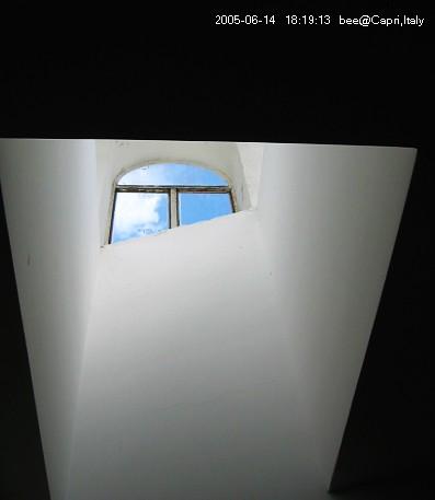 Capri的旅館拍的窗外