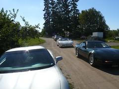 Vice President Run 2007 070 (redvette) Tags: corvette rivervalleyvettes redvette tomhiltz