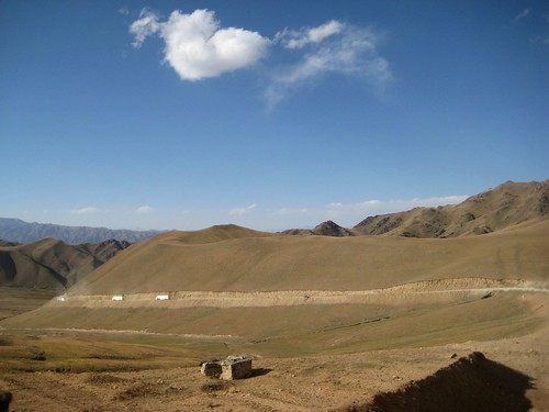 Dolong pass, Kirgisistan.