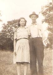 Ruth & Frank LaGrow (evads38) Tags: oldfamilyphotos