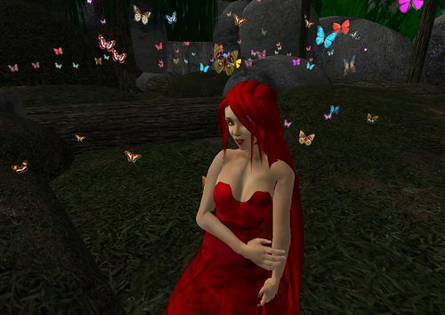 Jazzydee in butterfly cave