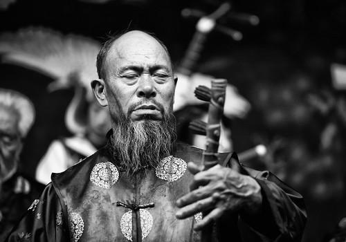 Naxi Musician