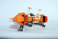 Virax Heavy Fighter (pbpancho) Tags: lego moc spacefighter classicspace