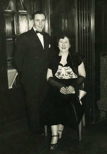 Edward and Jean Christmas Party 1950