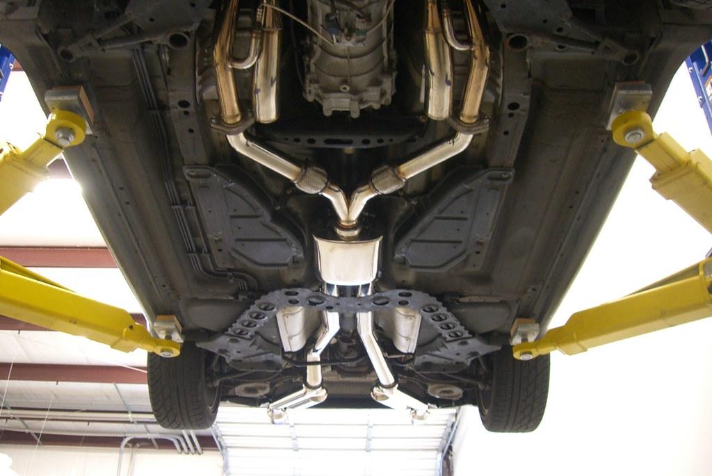 Installed: Motordyne Shockwave TDX V2 Exhaust - Nissan 350Z