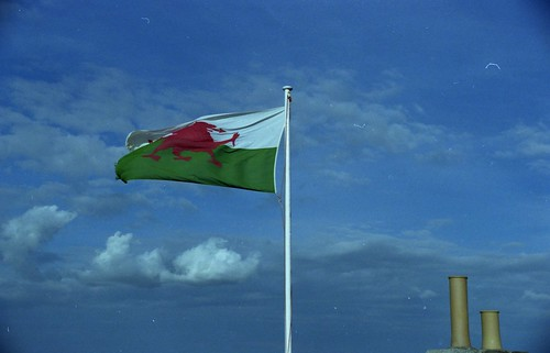 Photo: Welsh Flag