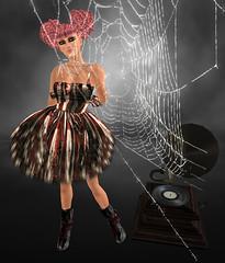 [SMOTD] Little Miss Carnage Dress not free [SMOTD]  + Gloomy Sunday Gramaphone (Distorted) not free (laerke levenque) Tags: gloomy dress distorted little sunday free carnage miss gramaphone smotd