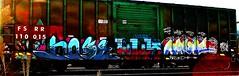 IMG_5332 (mightyquinninwky) Tags: railroad graffiti tag graf tracks railway tags tagged railcar rails boxcar graff graphiti freight trainart fr8 railart boxcarart freightart taggedboxcar paintedboxcar paintedrailcar taggedrailcar
