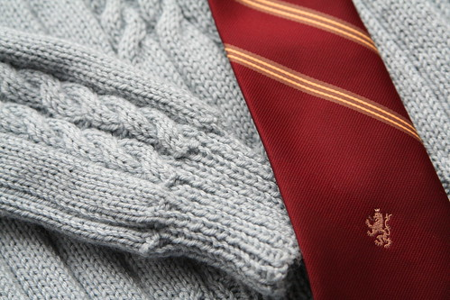 Grandma's Sweater for Lucas as Harry Potter