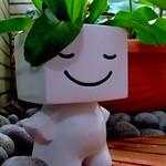 微笑小白人..綠色的頭毛狠Q唄!! thumbnail