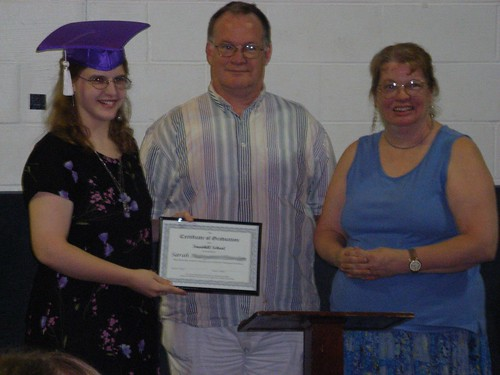 Graduation: Me and my parents