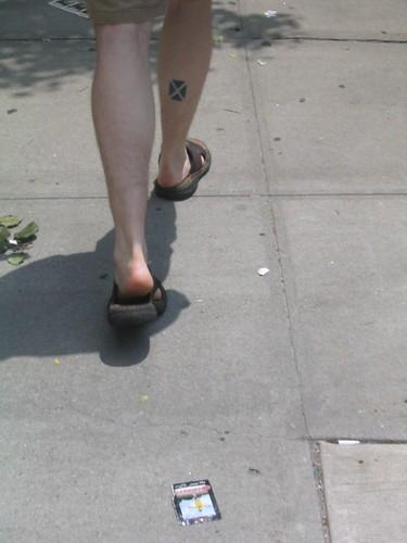 Xander's scottish tattoo