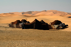 Our home for a night, Erg Chebbi, Morocco