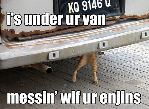 Under ur van