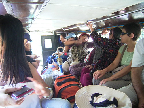 Banaue jeepney inside view transport commuting Pinoy Filipino Pilipino Buhay  people pictures photos life Philippinen  菲律宾  菲律賓  필리핀(공화��) Philippines