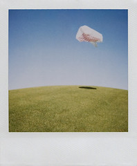 Anti Gravity (olla podrida) Tags: bag polaroid fly wind float shoppingbag ollapodrida