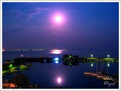 Full Moon II (andzer) Tags: summer moon holiday hot night purple joy vessel andreas full greece macedonia thessaloniki vacancy scapes salonica   kalamaria zervas  ysplix andzer