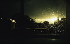 under the storm (mountainbaker) Tags: sun storm rain dark iso100 lomo lca xpro kodak e100vs thunder