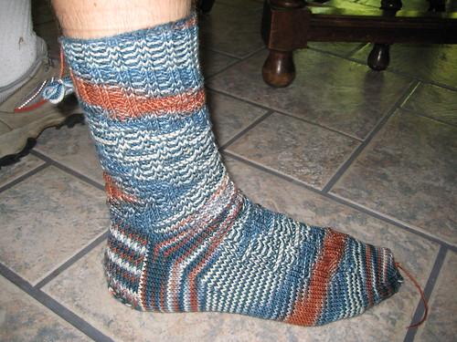 David's 4th socks